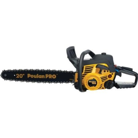 Poulan Pro PP5020AV 20-Inch 50cc 2-Stroke Gas Powered Chain Saw Review