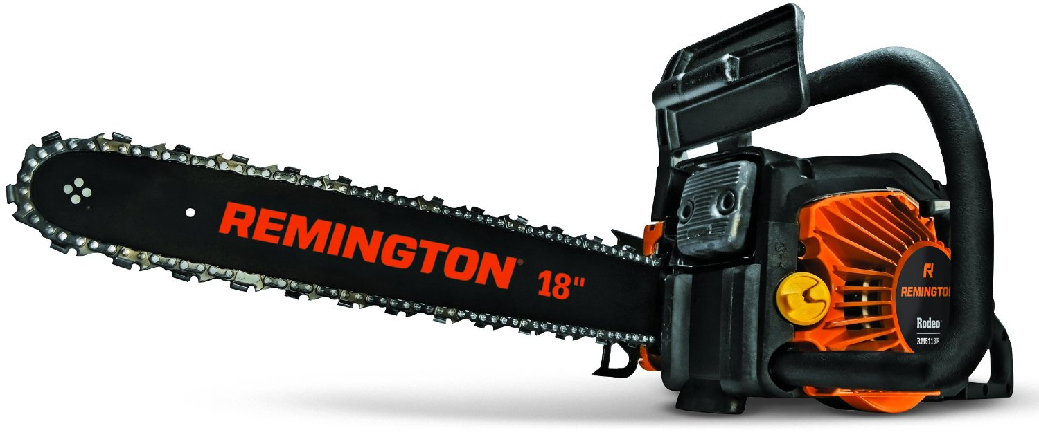 Remington RM5118R Rodeo 51cc 2-Cycle 18-Inch Gas Chainsaw Review