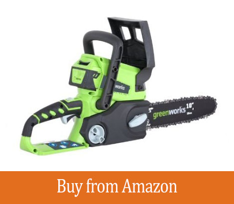 Greenworks 20092B 24-Volt Cordless Chainsaw Review
