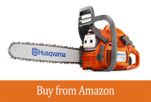 Husqvarna 450 18-Inch 50.2cc X-Torq 2-Cycle Gas Powered Chain Saw with Smart Start